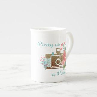 Xícara De Chá Um copo bonito para o amante da câmera