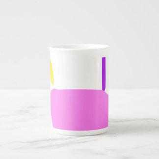 Xícara De Chá Uma fruta cor-de-rosa