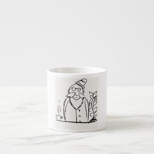 Xícara De Espresso Amante de café