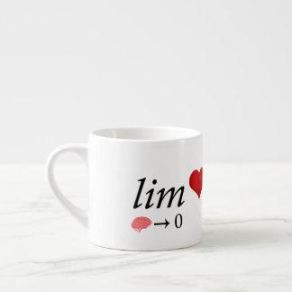 Xícara De Espresso Amor da matemática