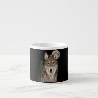 Xícara De Espresso arte do lobo