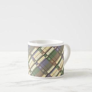 Xícara De Espresso Arte geométrica Pastel da abstracção
