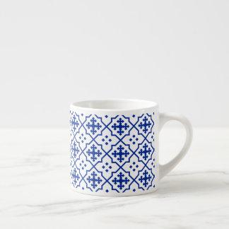Xícara De Espresso Azul marroquino