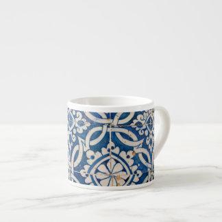 Xícara De Espresso Azulejo do português do vintage