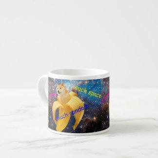 Xícara De Espresso banana   - doge - shibe - espaço - uau doge