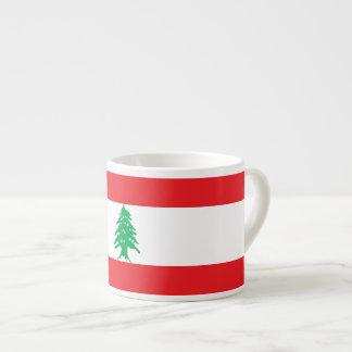 Xícara De Espresso Bandeira de Líbano