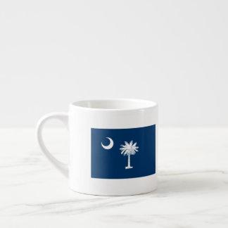Xícara De Espresso Bandeira de South Carolina