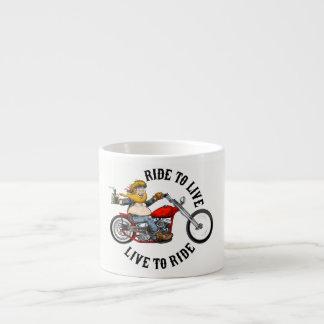 Xícara De Espresso biker motard ride to live