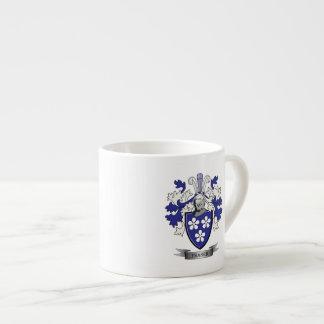 Xícara De Espresso Brasão da crista da família de Fraser