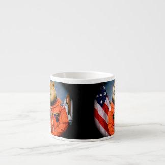 Xícara De Espresso cão do astronauta - doge - shibe - memes do doge