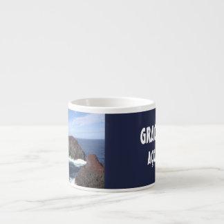 Xícara De Espresso Coleção do copo do café de Açores Graciosa