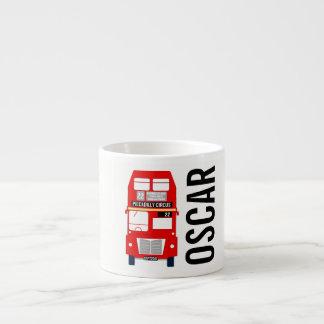 Xícara De Espresso Copo Customisable do café do ônibus de Londres
