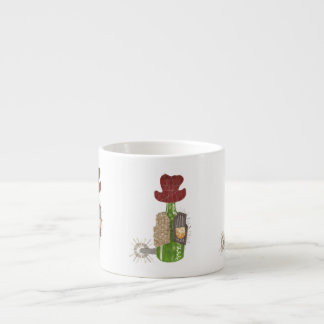 Xícara De Espresso Copo de Expresso do vaqueiro da garrafa
