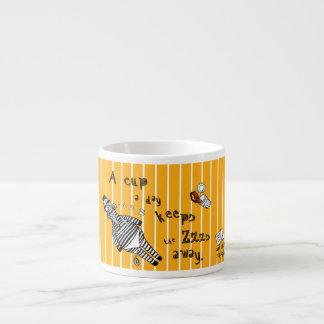 Xícara De Espresso Copo do café da zebra