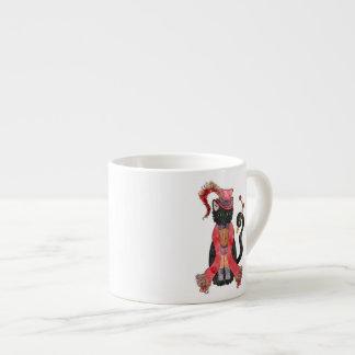 Xícara De Espresso Copo do café do gato da ópera