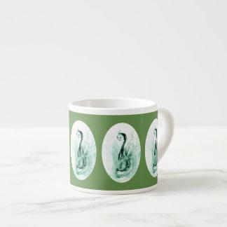 Xícara De Espresso Copos de chá novos verdes do café do dragão
