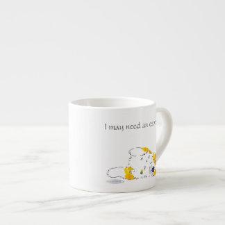 Xícara De Espresso Corgi do café