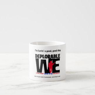 Xícara De Espresso Deplorável nós Drinkware