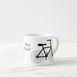 Xícara De Espresso Design personalizado da bicicleta