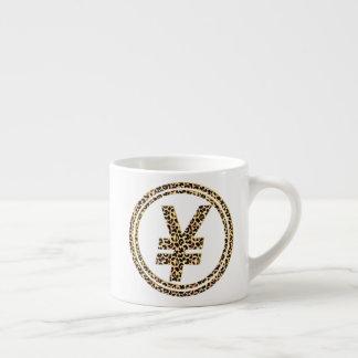 Xícara De Espresso ¥ do leopardo