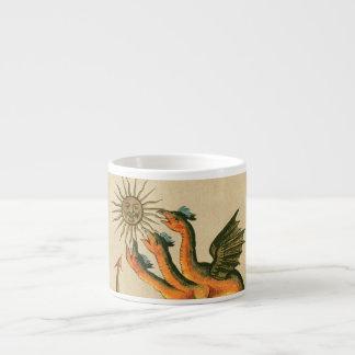 Xícara De Espresso Dragões de Clavis Artis