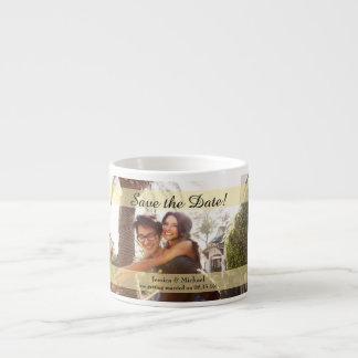 Xícara De Espresso Economias feitas sob encomenda do casamento da
