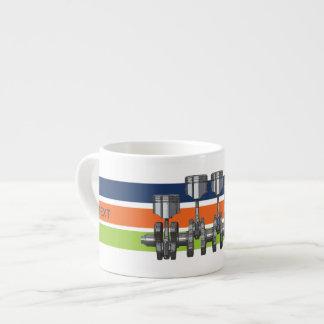 Xícara De Espresso Eixo de manivela do pistão