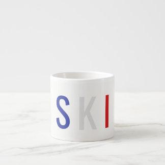 Xícara De Espresso Esqui