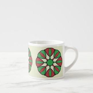 Xícara De Espresso Estrela do Natal