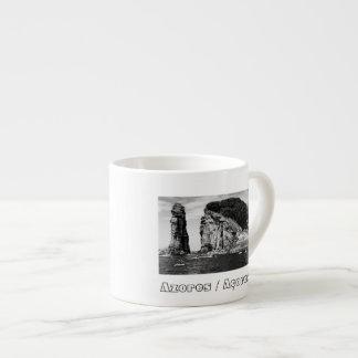 Xícara De Espresso Evento de mergulho do penhasco