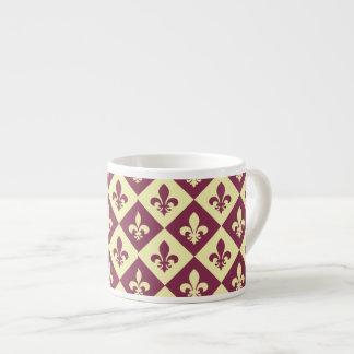 Xícara De Espresso Francês Borgonha