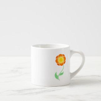 Xícara De Espresso Girassol bonito
