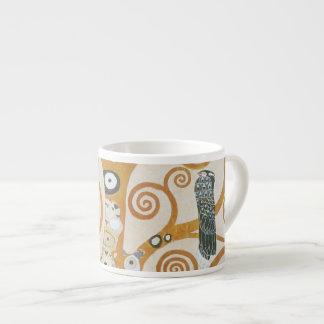 Xícara De Espresso Gustavo Klimt a árvore da arte Nouveau da vida