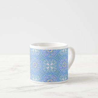 """Xícara De Espresso Mandala da inspiração - """"alegria """""""