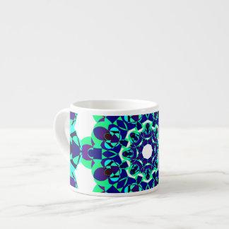 Xícara De Espresso Mandala hipnótica