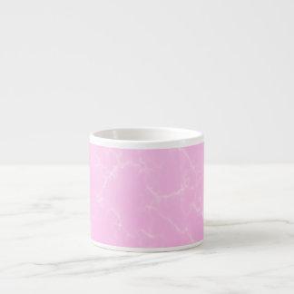 Xícara De Espresso Mármore elegante style5 - rosa das flores de