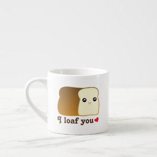 Xícara De Espresso Mim naco você chalaça engraçada da comida dos