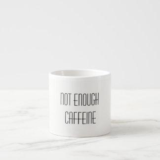 Xícara De Espresso Não bastante cafeína