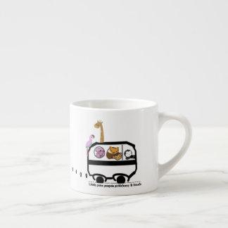 Xícara De Espresso Nascer a ser selvagem!