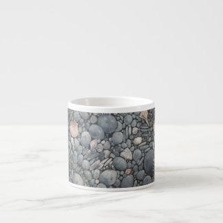 Xícara De Espresso Natureza da casa de praia rochosa