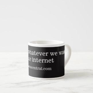 Xícara De Espresso Nós podemos dizer o que quer que nós queremos, seu