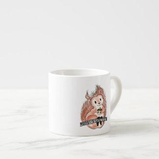 Xícara De Espresso O inverno: Ilustração do feriado do esquilo