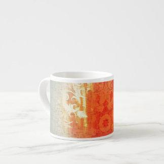 Xícara De Espresso Original subtil bonito do copo alaranjado de