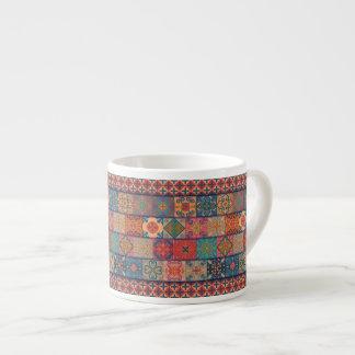 Xícara De Espresso Ornamento de talavera do mosaico do vintage