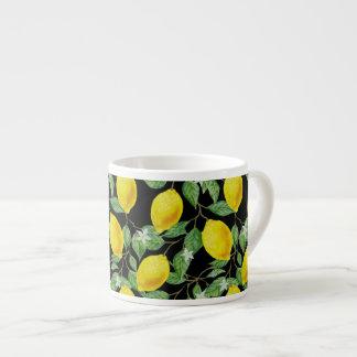 Xícara De Espresso Panaché do limão