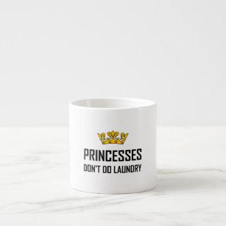 Xícara De Espresso Princesas Fazer Não Fazer Lavanderia