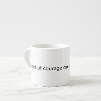 Xícara De Espresso Quinta coragem sagrado
