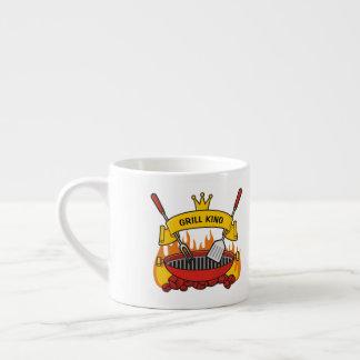 Xícara De Espresso Rei da grade