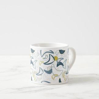 Xícara De Espresso Retro Crescimento-UM-Soou!