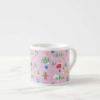 Xícara De Espresso rosa bonito